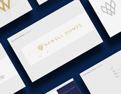Newell Homes Brand Identity
