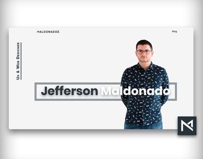 Maldonadoz Web Design front page