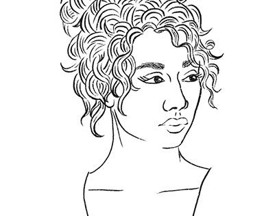 Line-work Portraits