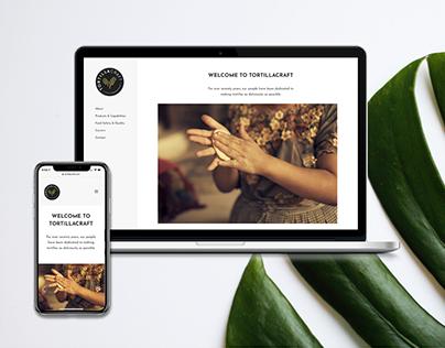Web Design // Tortillacraft