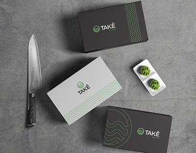 Takê Sushi - Visual Identity