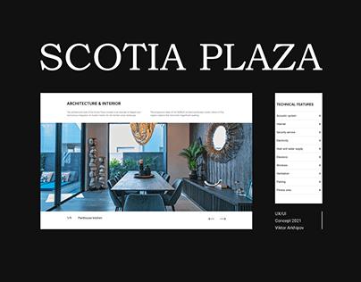 Luxury apartments website design | Premium Real Estate