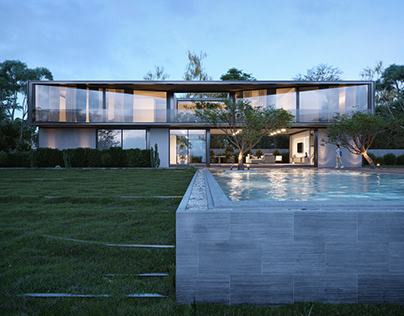 Render - Residência Y/A/O / Octane architect & design