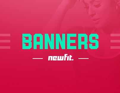 WEB banners - Newfit