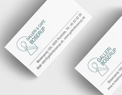 'Galleri Boserup' Logo and Identity Design