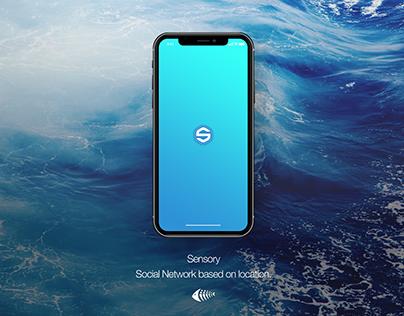 Sensory - GPS-based Social Network