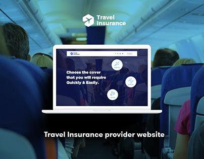 Travel Insurance Provider Concept | UI/UX