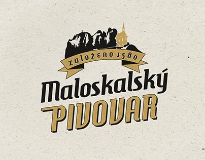 logo Maloskalský pivovar