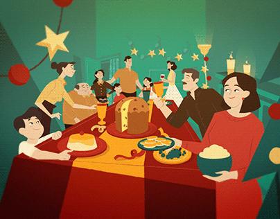 Bauducco - Pedacinhos do Natal