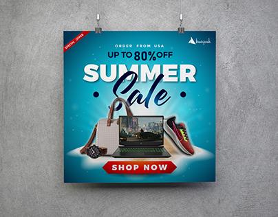 Social Media ads design for Backpack