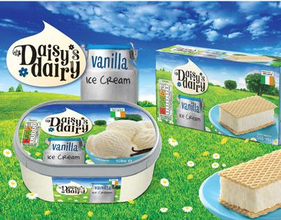 Daisy's Dairy Brand Identity & Packaging Design