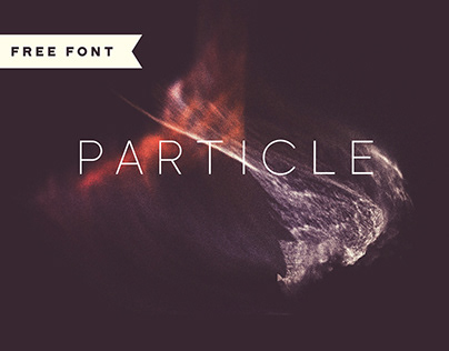 EXCLUSIVE FREEBIE | Particle Typeface