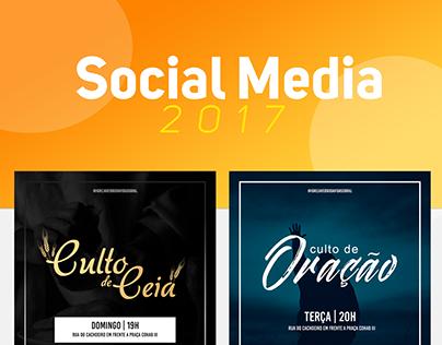 Social Media - Igreja Verbo da Vida- Sobral