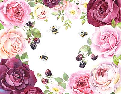 Roses&Blackberries