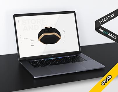Boombotix Pro — Website Design