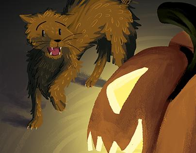 Spook the Scaredy Cat