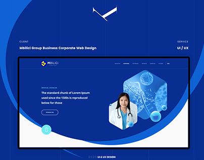 Mbilici Kurumsal Web Tasarım, UI Design