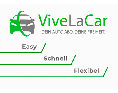 animated banner for german car rental company