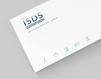 ISDS logo, stationary and responsive WordPress site
