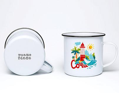 Mug prints / Сочи