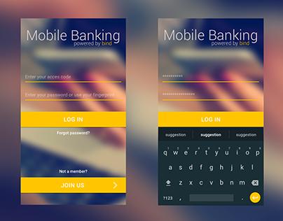 Log in app mobile banking