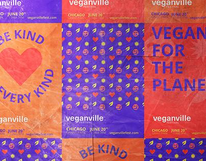 Veganville Festival Branding