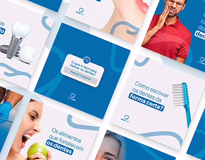 Projeto Social media   Dentalhealth (Odontologia)