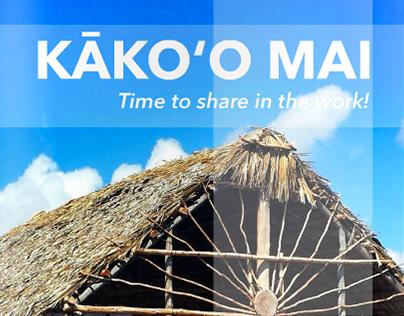 Kako'o Mai (Events Booklet)