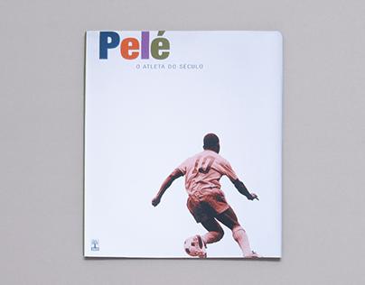 Pelé - O Atleta do Século book design