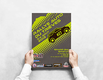 Affiches rallye auto