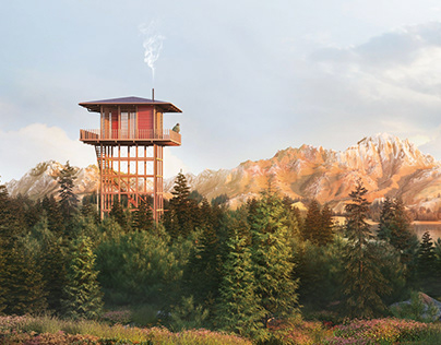 Fire Tower   Personal Project