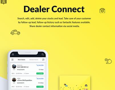 Dealer app UI/UX - iOS