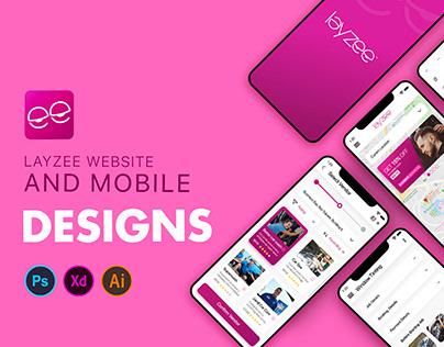Layzee Web & Mobile App