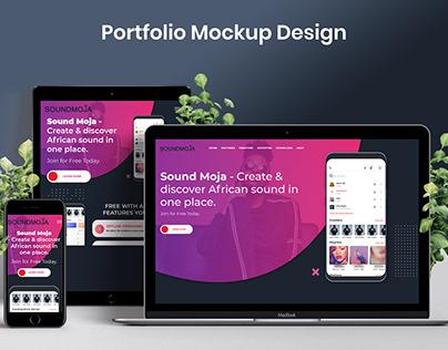 Portfolio Mockup Design