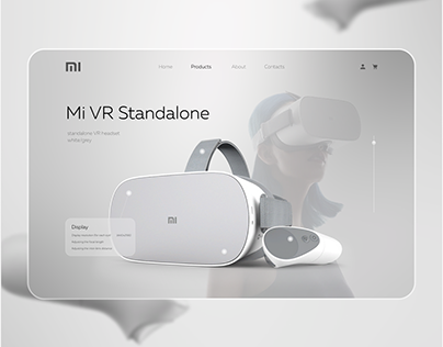 Xiaomi VR landing page