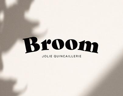 Broom, jolie quincaillerie