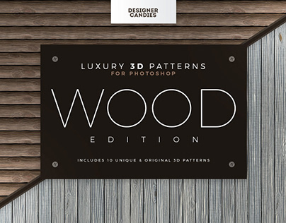 Wood Patterns for Photoshop
