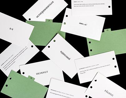 Archiv der unübersetzbaren Wörter