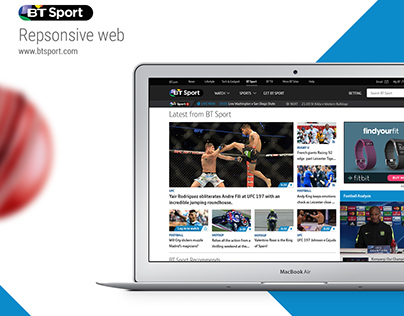 BT Sport Responsive web & UX refresh