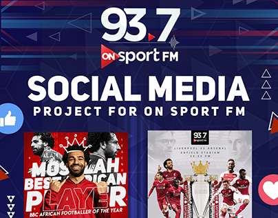 Social Media Project For ONsport FM Vol.1