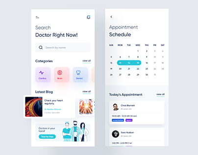 UI Daily challenge - Doctor appointment