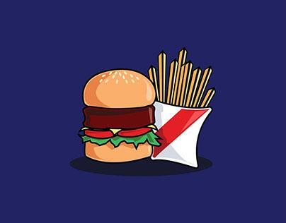 My Favorite Foods: Digital Drawing Practice
