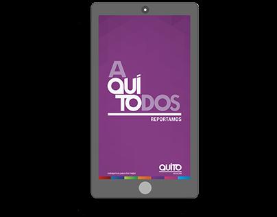 Sistema de Aplicaciones Móviles - Alcaldía de Quito