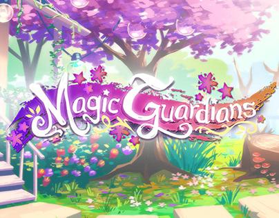 Magic Guardians: Backgrounds