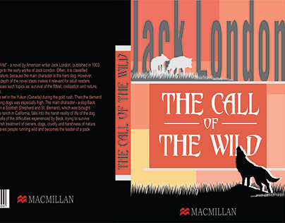Creating the cover design for Jack London's book