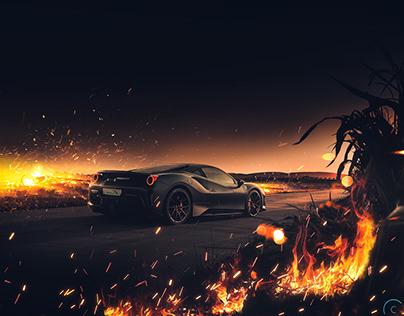 Ferrari 488 Pista | Fire