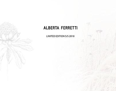 ALBERTA FERRETTI Limited Edition Collection S/S 2018