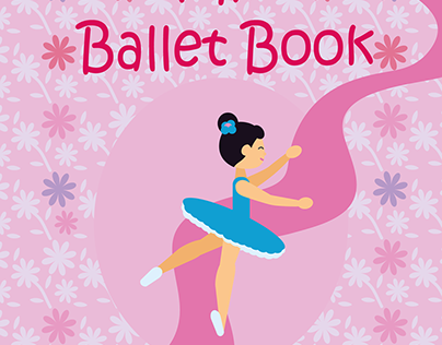 Ballet book cover design