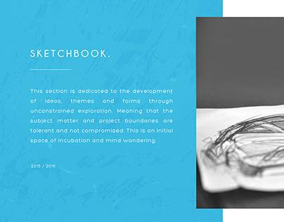 Sketchbook (work in progress)