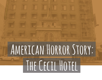 American Horror Story - Magazine layout